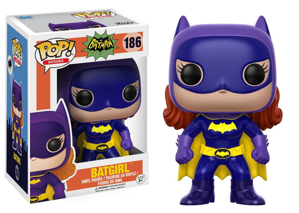 Funko POP! POP! Heroes #186: Batman Classic TV Series (1966): BATGIRL