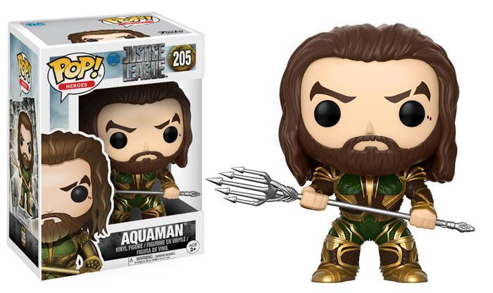 Funko POP! POP! Heroes #205: Justice League: AQUAMAN