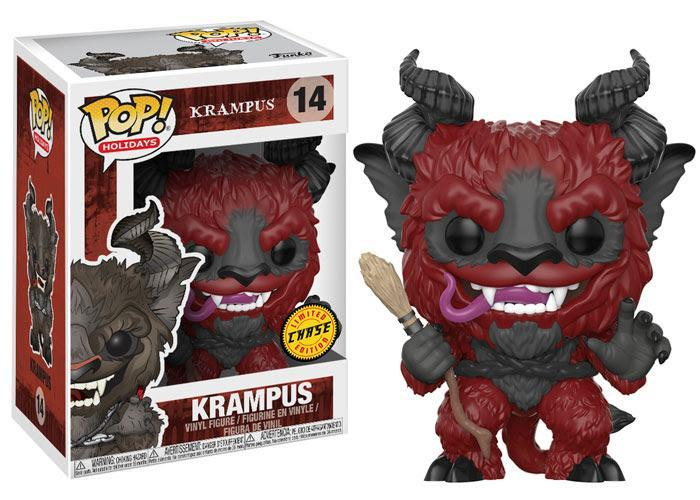 Funko POP! POP! Holidays # 14: Krampus: KRAMPUS (Red) - Chase Limited Edition
