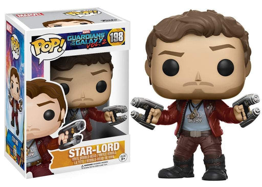 Funko POP! POP! Marvel #198: Guardians Of The Galaxy Vol. 2: STAR-LORD