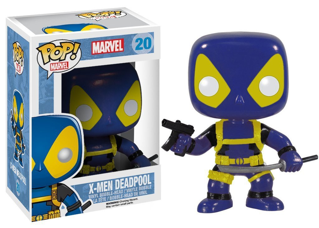 Funko POP! POP! Marvel # 20: X-MEN DEADPOOL (BLUE)