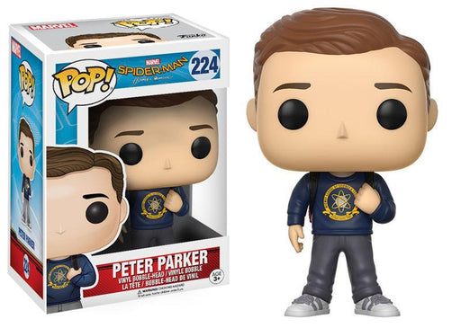 Funko POP! POP! Marvel #224: Spider-Man: Homecoming: PETER PARKER