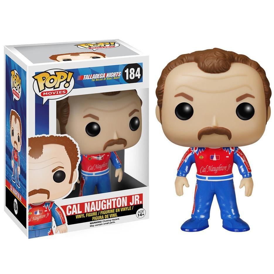 Funko POP! POP! Movies #184: Talladega Nights: Ballad of Ricky Bobby: CAL NAUGHTON JR.