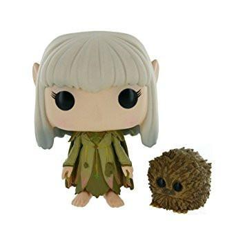 Funko POP! POP! Movies #340: The Dark Crystal: KIRA & FIZZGIG [CLOSED MOUTH] - Chase Limited Edition