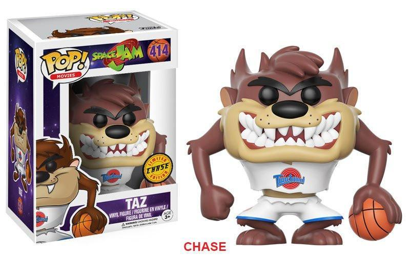 Funko POP! POP! Movies #414: Space Jam: TAZ [GRINNING] - Chase Limited Edition