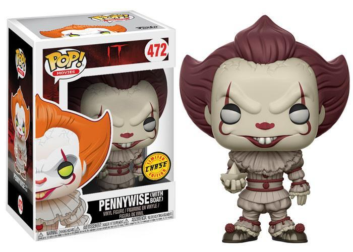 Funko POP! POP! Movies #467: IT (2017): PENNYWISE (with Boat) [Sepia] - Chase Limited Edition