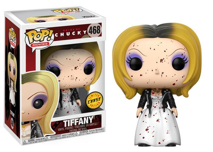 Funko POP! POP! Movies #468: Bride of Chucky: TIFFANY [Spattered In Blood] - Chase Limited Edition