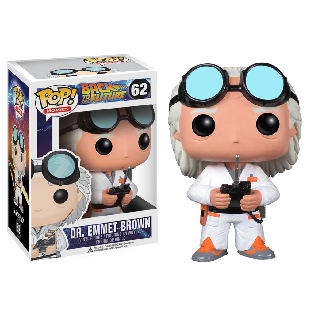 Funko POP! POP! Movies # 50: Back To The Future: DR. EMMETT BROWN