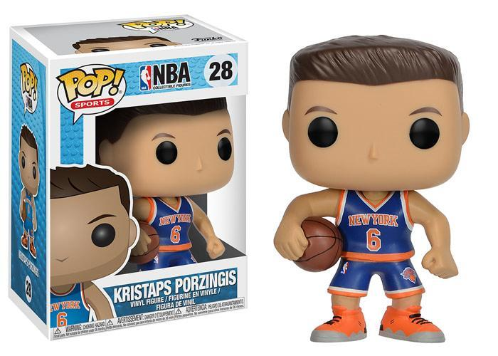 Funko POP! POP! NBA # 28: New York Knicks: KRISTAPS PORZINGIS