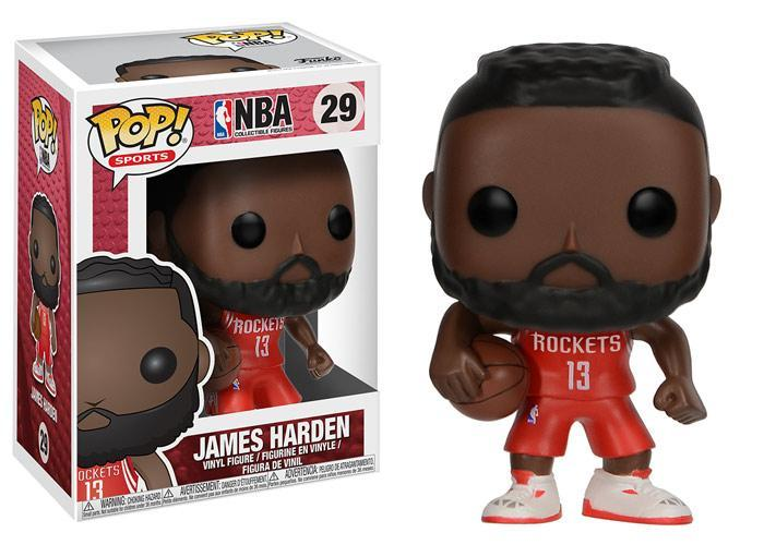 Funko POP! POP! NBA # 29: Houston Rockets: JAMES HARDEN