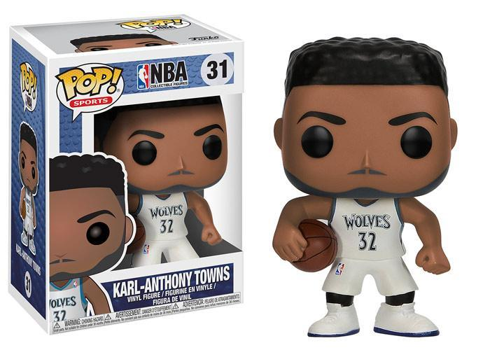 Funko POP! POP! NBA # 31: Minnesota Timberwolves: KARL-ANTHONY TOWNS