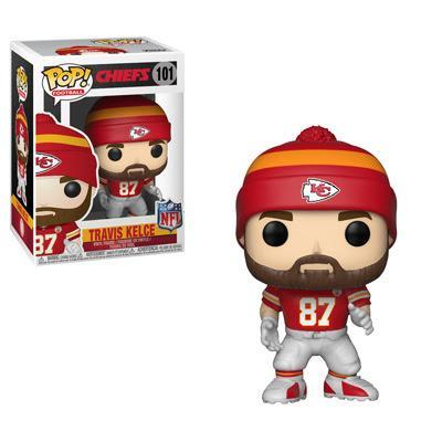 Funko POP! POP! NFL #101: Kansas City Chiefs: TRAVIS KELCE (Red)