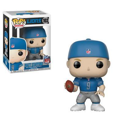 Funko POP! POP! NFL #102: Detroit Lions: MATT STAFFORD (Blue)