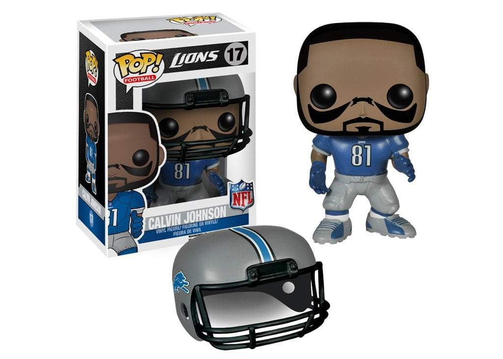 Funko POP! POP! NFL # 17: Detroit Lions: CALVIN JOHNSON (Home)