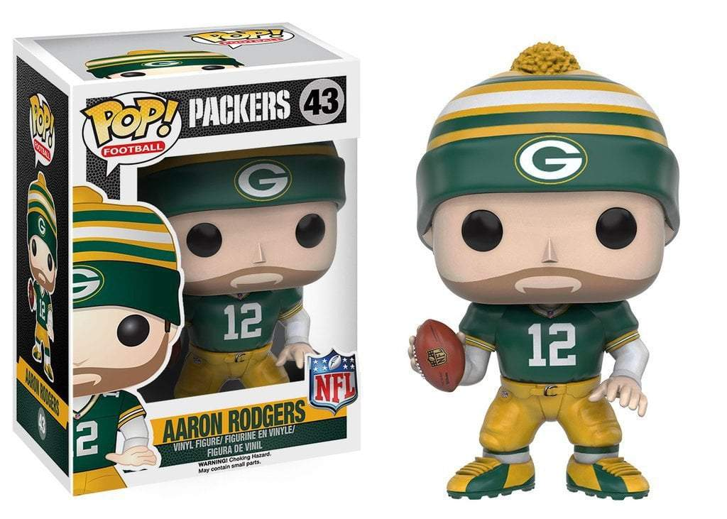 Funko POP! POP! NFL # 43: Green Bay Packers: AARON RODGERS (Home)