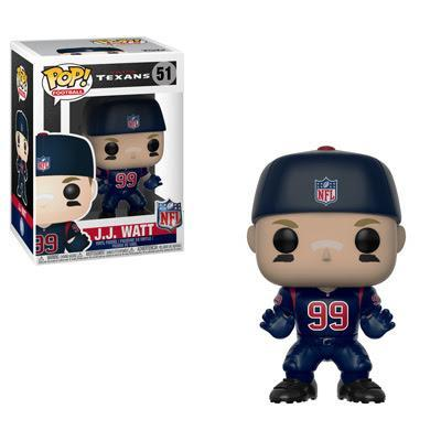 Funko POP! POP! NFL # 51: Houston Texans: J.J. WATT (Color Rush)