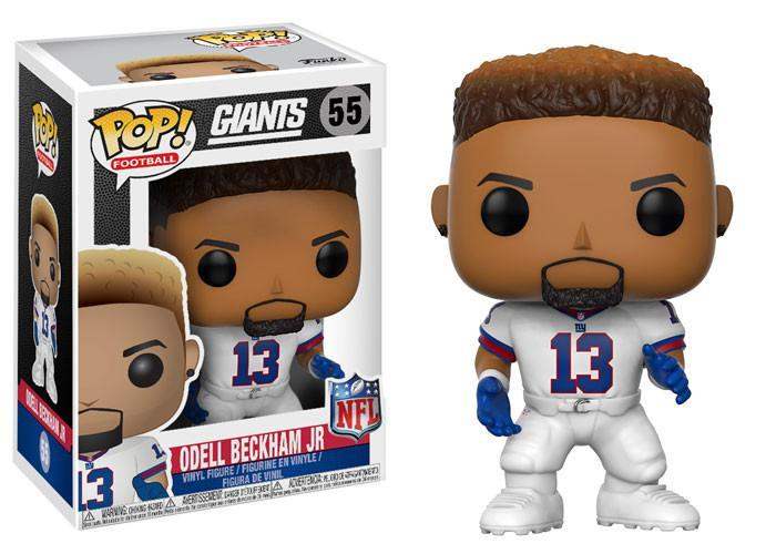 Funko POP! POP! NFL # 55: New York Giants: ODELL BECKHAM JR. (Color Rush)