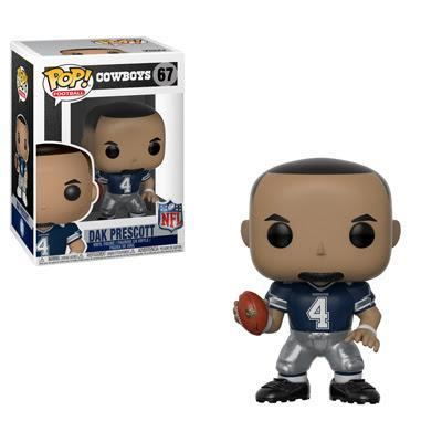 Funko POP! POP! NFL # 67: Dallas Cowboys: DAK PRESCOTT (Blue)