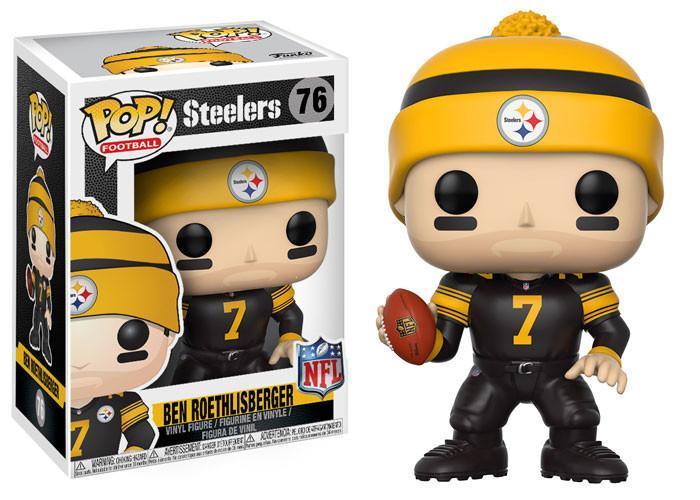 Funko POP! POP! NFL # 76: Pittsburgh Steelers: BEN ROETHLISBERGER (Color Rush)