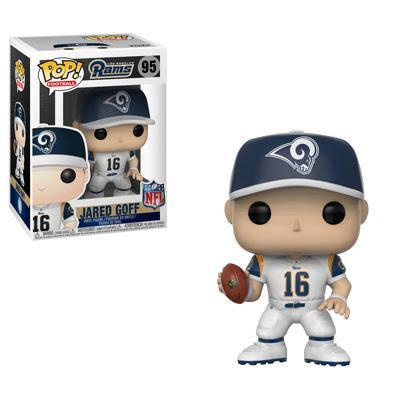 Funko POP! POP! NFL # 95: Los Angeles Rams: JARED GOFF (White)