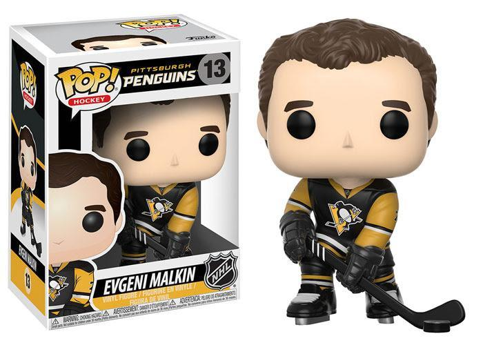 Funko POP! POP! NHL # 13: Pittsburgh Penguins: EVGENI MALKIN (Home)