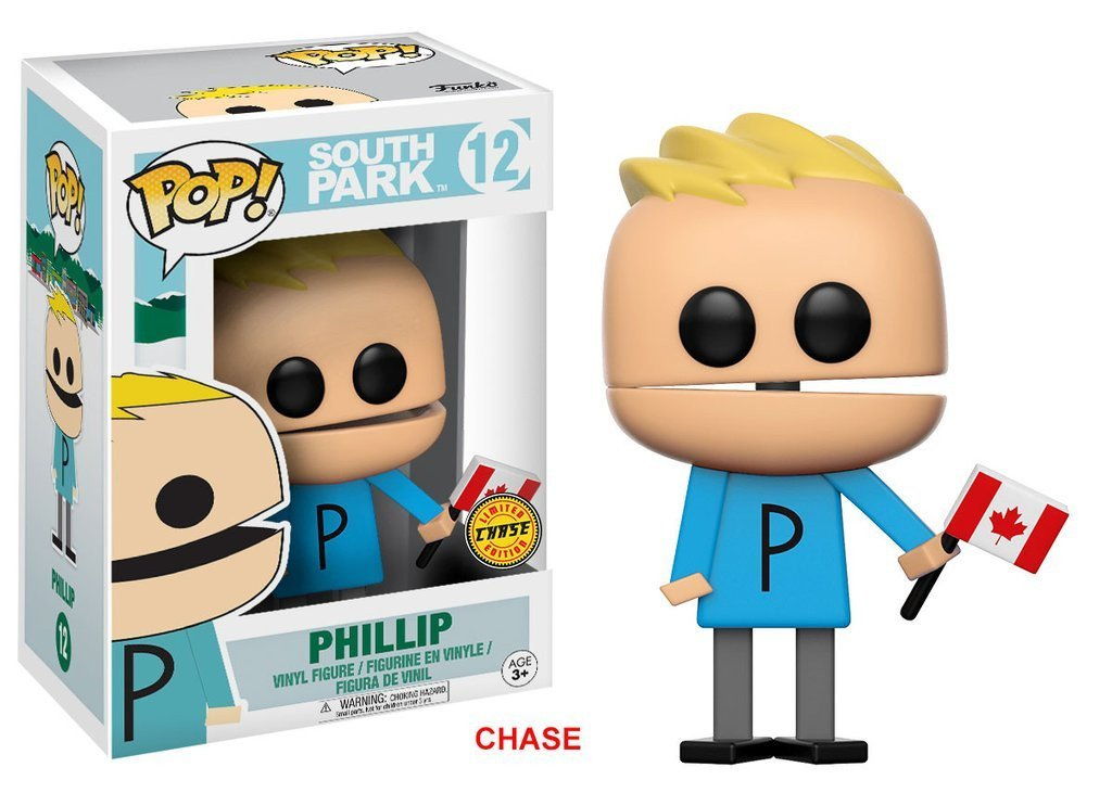 Funko POP! POP! South Park # 12: PHILLIP [CANADIAN FLAG] - Chase Limited Edition