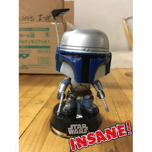 "Funko POP! POP! Star Wars # 00: JANGO FETT - from ""LEGO Star Wars III Play & Collect"" Pack"