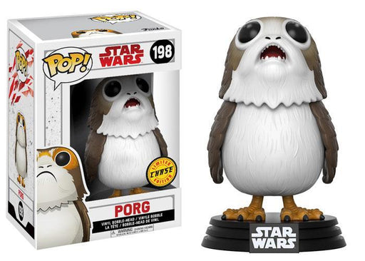 Funko POP! POP! Star Wars #198: The Last Jedi: PORG (Opened Mouth) - Chase Limited Edition