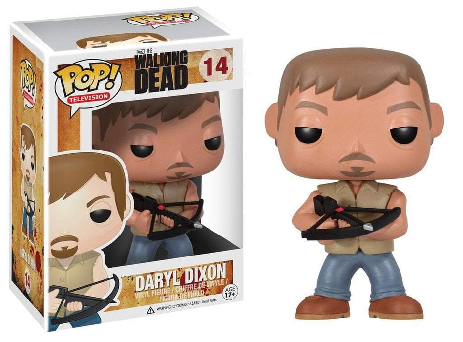 Funko POP! POP! TV # 14: The Walking Dead: DARYL DIXON