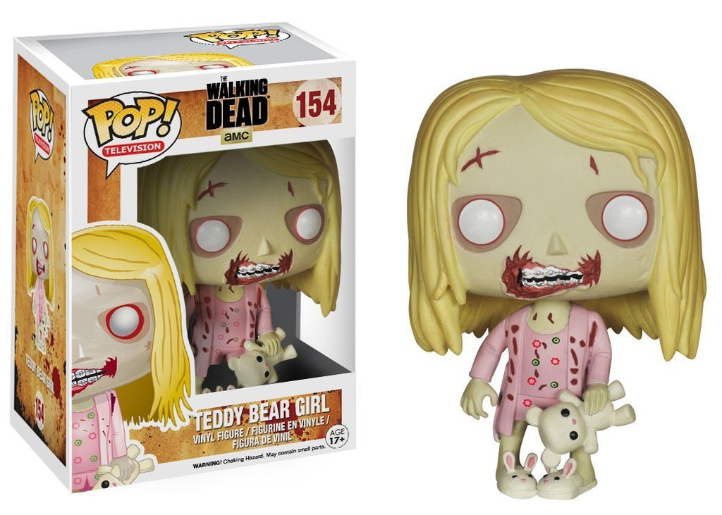 Funko POP! POP! TV #154: The Walking Dead: TEDDY BEAR GIRL