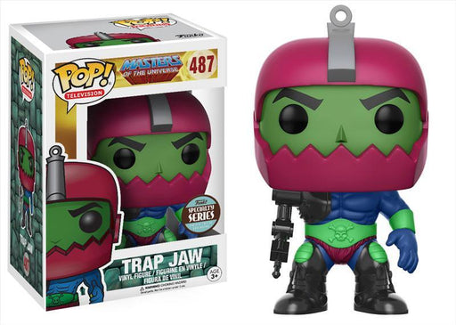 Funko POP! POP! TV #487: Masters of the Universe: TRAP JAW - Specialty Series Edition