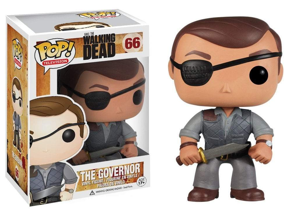 Funko POP! POP! TV # 66: The Walking Dead: THE GOVERNOR