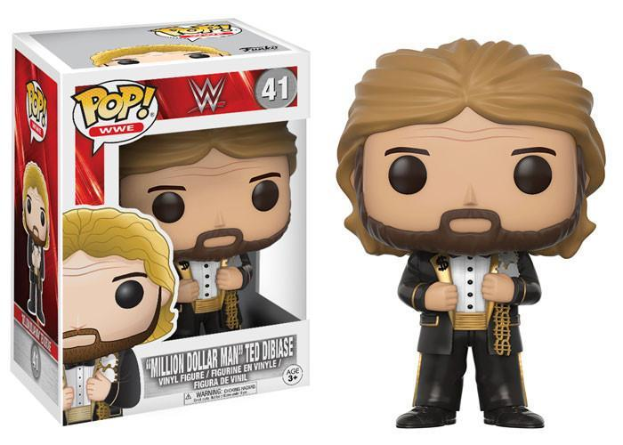 "Funko POP! POP! WWE # 41: ""MILLION DOLLAR MAN"" Ted DiBiase (Black Tux)"