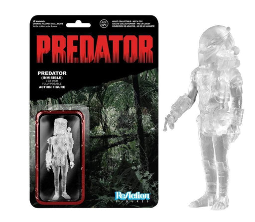 Funko ReAction ReAction: Predator: PREDATOR [INVISIBLE] (Clear/Masked)