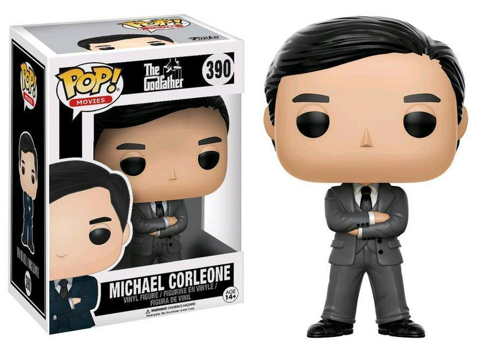 FYE Funko POP! #390: Movies (Godfather Michael Corleone Grey Suit) Vinyl Figure