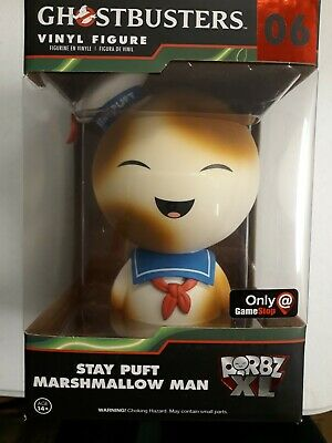 "Dorbz XL #06: Ghostbusters: 6"" STAY PUFT MARSHMELLOW MAN TOASTED"