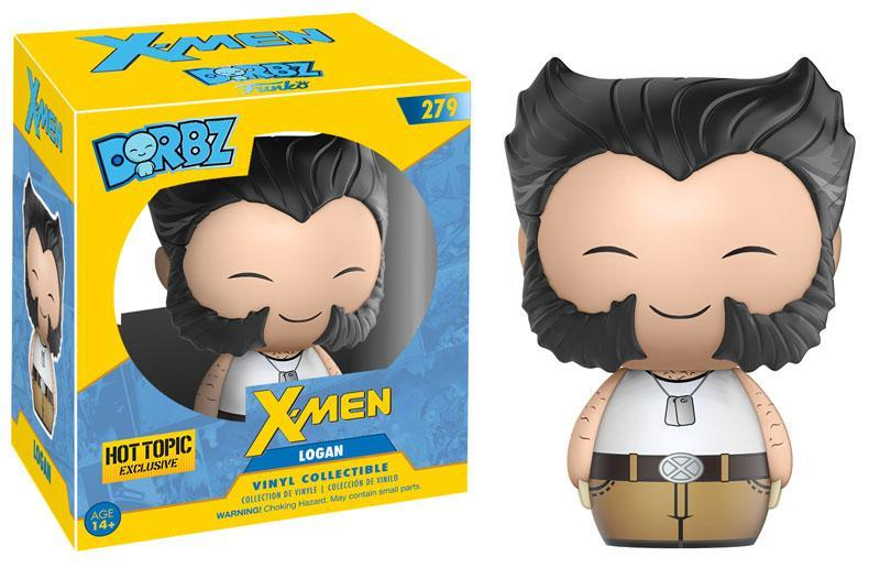 HT 2000 Dorbz #279: Marvel Comics (Logan w/ Tank Top)