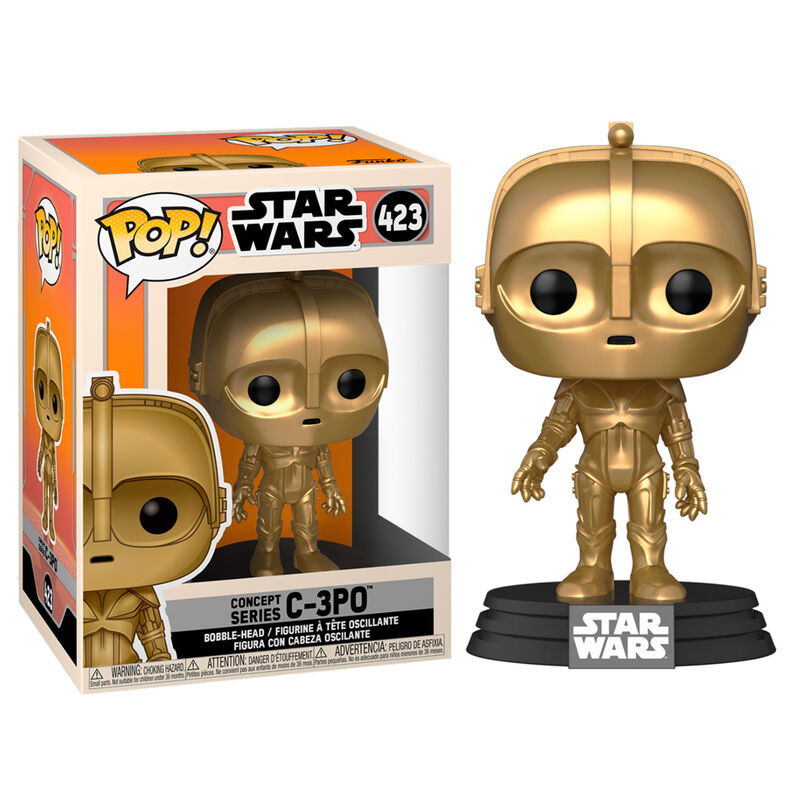 Pop! Star Wars #423: Concept Series: C-3PO