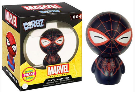 INSANE! Toy Shop by Insane Web Deals Dorbz #004: Marvel Comics (Spider-Man Miles Morales) Limited edition Chase V.