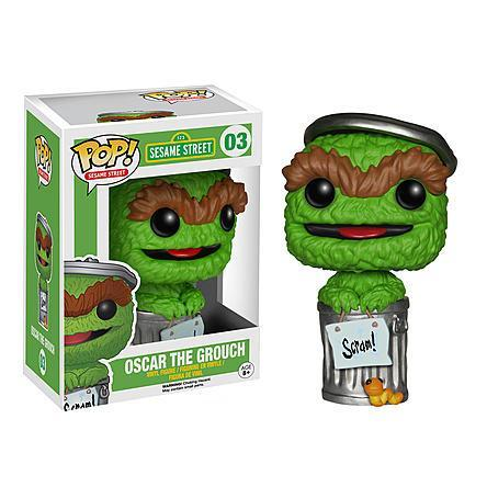 INSANE! Toy Shop by Insane Web Deals Funko POP! #03: Sesame Street (Oscar the Grouch)