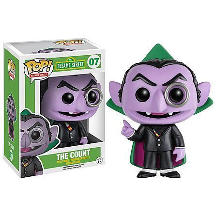 INSANE! Toy Shop by Insane Web Deals Funko POP! #07: Sesame Street (The Count)