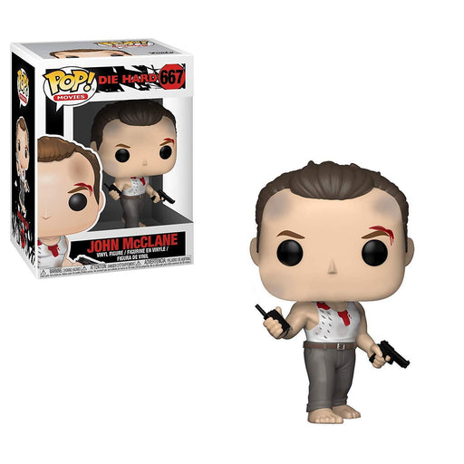 INSANE! Toy Shop by Insane Web Deals Funko Pop Movies #667:  Die Hard - John McClane Collectible Figure, Multicolor
