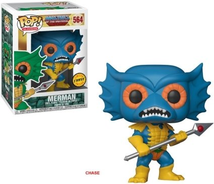 Pop! TV #564: Masters of the Universe: MERMAN (Blue) Chase Variant