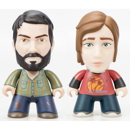 "Naughty Dog Titans Toys & Games The Last Of Us 3"" Vinyl Figures Two Pack - JOEL & ELLIE"