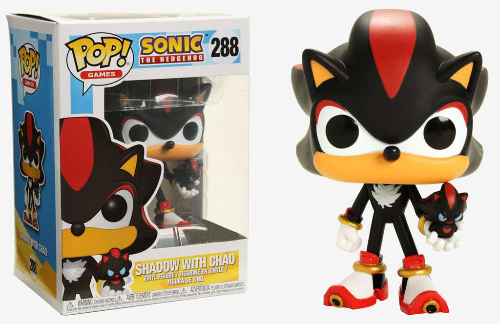 Pop Games 288 Sonic The Hedgehog Shadow With Chao Hot Topic Insane Toy Shop By Insane Web Deals