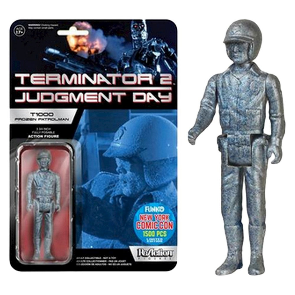 ReAction Figure: Terminator 2: T1000 (Frozen Blue) NYCC 2015 1000