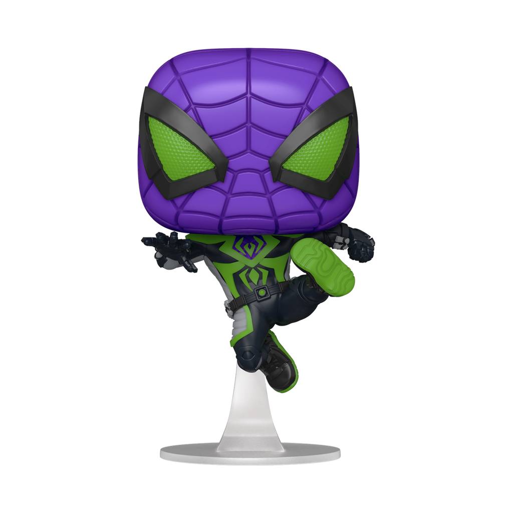 Pop! Games: Marvel's Spider-Man Miles Morales: MILES (Purple Reign)