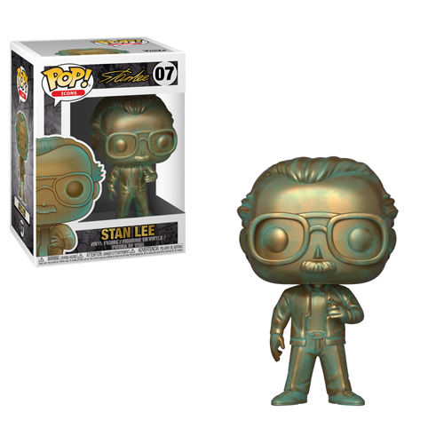 Funko Pop! #07 Icons: Stan Lee (Patina).
