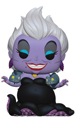 Pop! Disney #: Little Mermaid URSULA w/ EELS