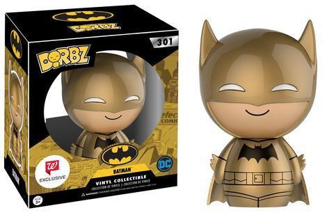 Walgreens Dorbz #301: DC Comics Batman (Golden Midas Version)